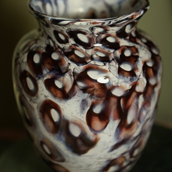 Blown Glass Vase - anyone recognize the mark on the bottom? - Art Glass
