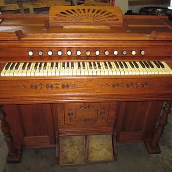 Eastlake Pump Organ circa 1900 - Furniture