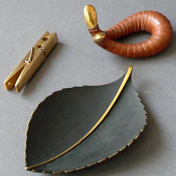 three pieces of Carl Auböck (* 1900; †1957) - Mid-Century Modern