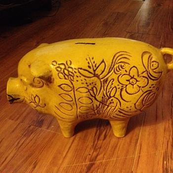 Grandmas piggy bank