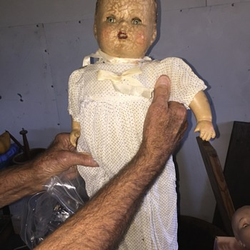 Large old doll