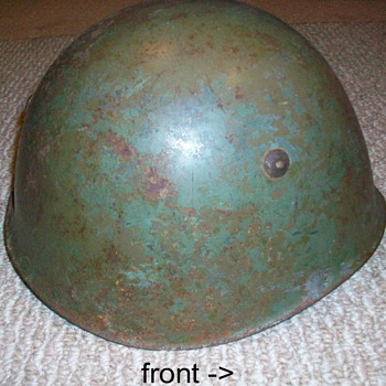 Unknown Helmet in Ohio - Military and Wartime