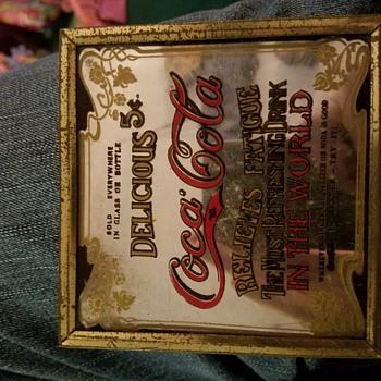 """Coca-cola 4"""" mirror"""