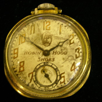 1929 Robin Hood Shoes Pocket Watch
