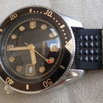 1st Seiko professional divers 300m 6215-7000 1967s - Wristwatches