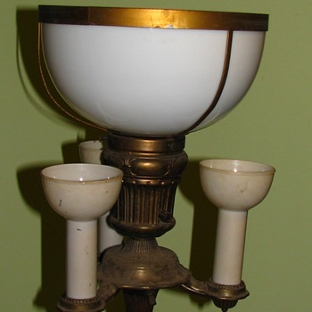 Picked up at auction today, floor lamp. - Lamps