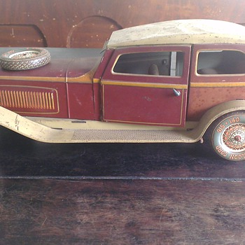 Antique Tin ToyLrg Pre War Tippco TC 9590 Limousine 53CM - Model Cars