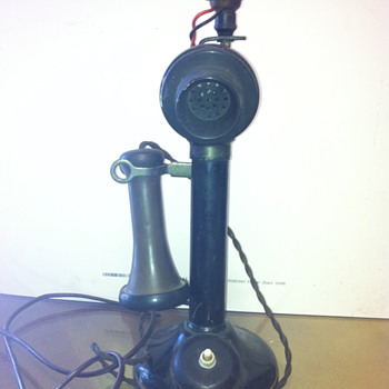 Candlestick telephone