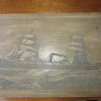 Russel & Richardson St Boston ship carving?? - Visual Art