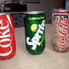 "Plastic Coca-Cola and Sprite ""cans""- experimental?"