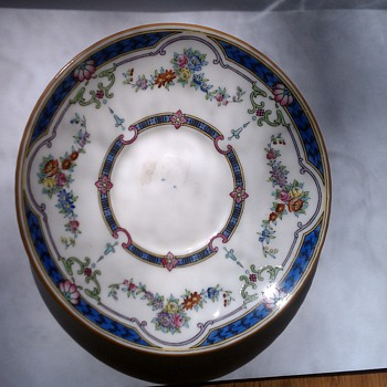 1921 english china - China and Dinnerware