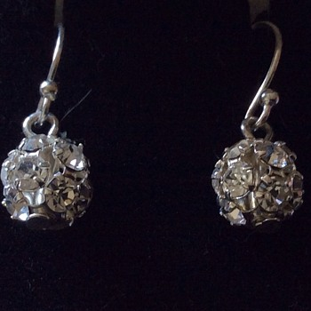 Old earrings  - Costume Jewelry