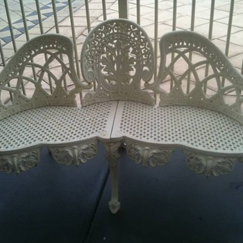 Cast Iron Bench - Furniture