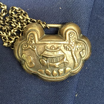 Chinese Locket or Padlock Necklace?  UPDATED PHOTOS