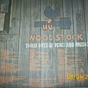 Woodstock 2 was originally released in 1971 as a double LP - Records