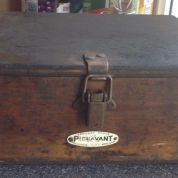 Wooden Pickavant tool box