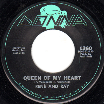 Queen of My Heart - Great West Coast Ballad - Records