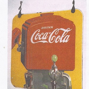 1938 Coke sign