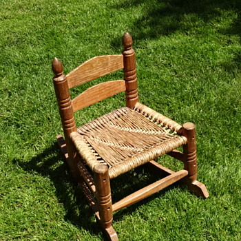 Little Vintage Rocking Chair