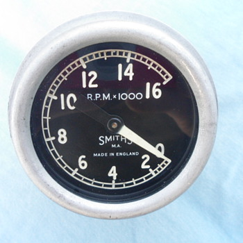 Smiths rev counter what does it fit ? - Motorcycles