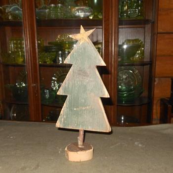 Folk Art Christmas Tree and Friends - Folk Art