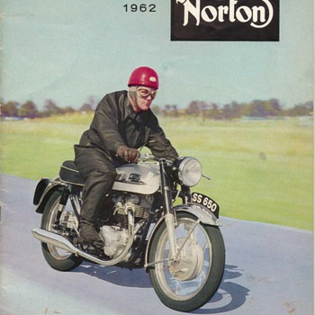 1962 Norton Motorcycles Brochure - Motorcycles