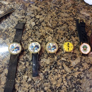 Old watches - different ones - Wristwatches