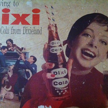 Dixi Cola Sign - Signs