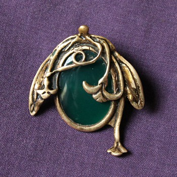 Art Nouveau Brooch  HELP Please!! - Art Nouveau