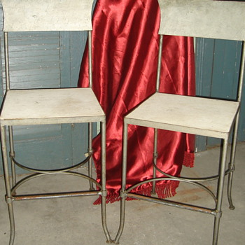 Vintage bar chairs - Furniture