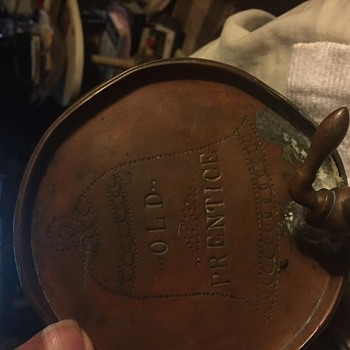 Old Prentice Whiskey Copper gallon size