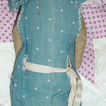 Cloth doll 1800's to 1910 Handmade