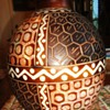 CHULUCANAS POTTERY 12 in. tall 9 in. diameter  PERU by Santodio Paz Juarez!!