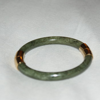 Vintage Jadeite Bangle