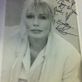 Signed Sally Kellerman Picture