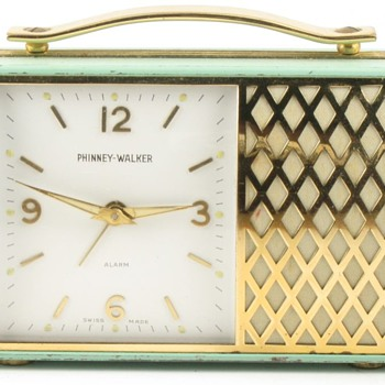 Phinney-Walker Musical Alarm Clock - Clocks