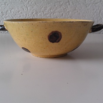 My Small Quake (Quaich) Bowl, 1700s - Art Pottery