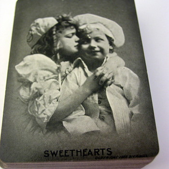"""Sweethearts"" Playing cards"