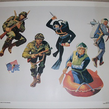 G.I. Joe Artwork Poster  - Posters and Prints