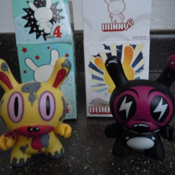 KidRobot Gary Baseman etc dunnys