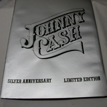 jonny cash silver anniversary edition - Books