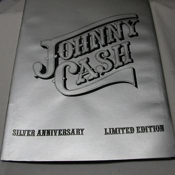 jonny cash silver anniversary edition - Books