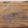 1800&#039;s Putnum Nail Company Wooden Box.
