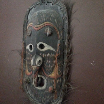 ANGORAM TRIBAL MASK - Visual Art