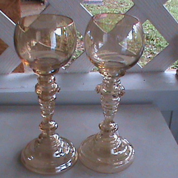 Water goblets - Glassware