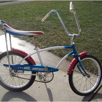 WANTED help finding a Huffy Mr. America bike - Sporting Goods