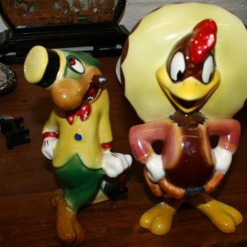 Ze&#039;Carioca ( Jose Caioca) and friend