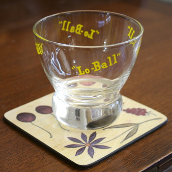 Lo Ball Glasses by Eva Zeisler