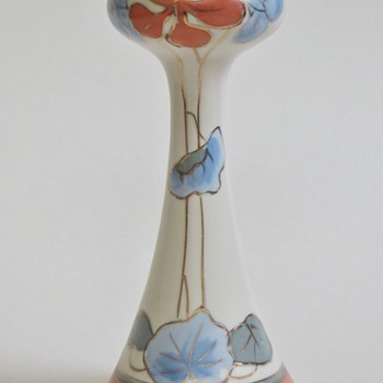Art Nouveau Vase, Beautiful Shape with Lovely Floral Design, mrkd 10119I~unknown