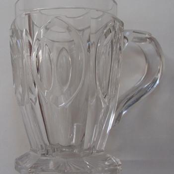 HABSBURG – LORRAINE BOHEMIAN CUT CRYSTAL MUG - Glassware